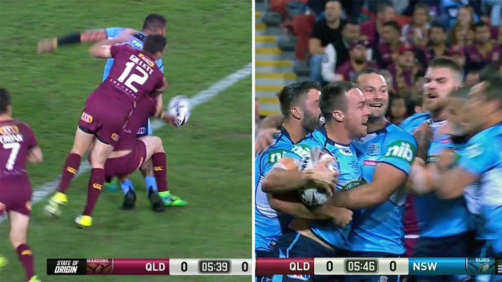 State of Origin: James Maloney opens the scoring for NSW