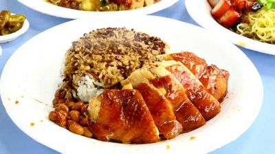 Hong Kong Soya Sauce Chicken Rice and Noodles, Singapore