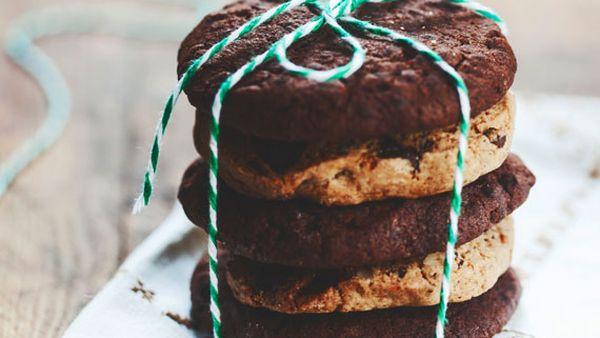 Kara Conroy's chewy choc chia cookies