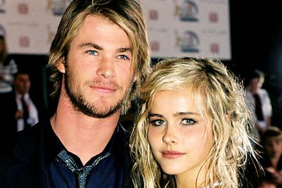 <B>Where they met:</B> <I>Home and Away</I>. As Tasha Andrews, Lucas was one of the more tortured young characters the homegrown soap had to offer. Hemsworth played her close friend Kim Hyde, the son of the school principal.<br/><br/><B>Did love blossom or bomb?</B> Bombed. Though they seemed like a super-attractive match made in heaven, the sort of Aussie power-couple <I>TV Week</I> dreams of, by June 2006 it had all ended in tears. Apparently, the former couple are still pals.
