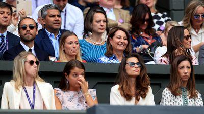 Middleton family, Men's Singles Final 2019