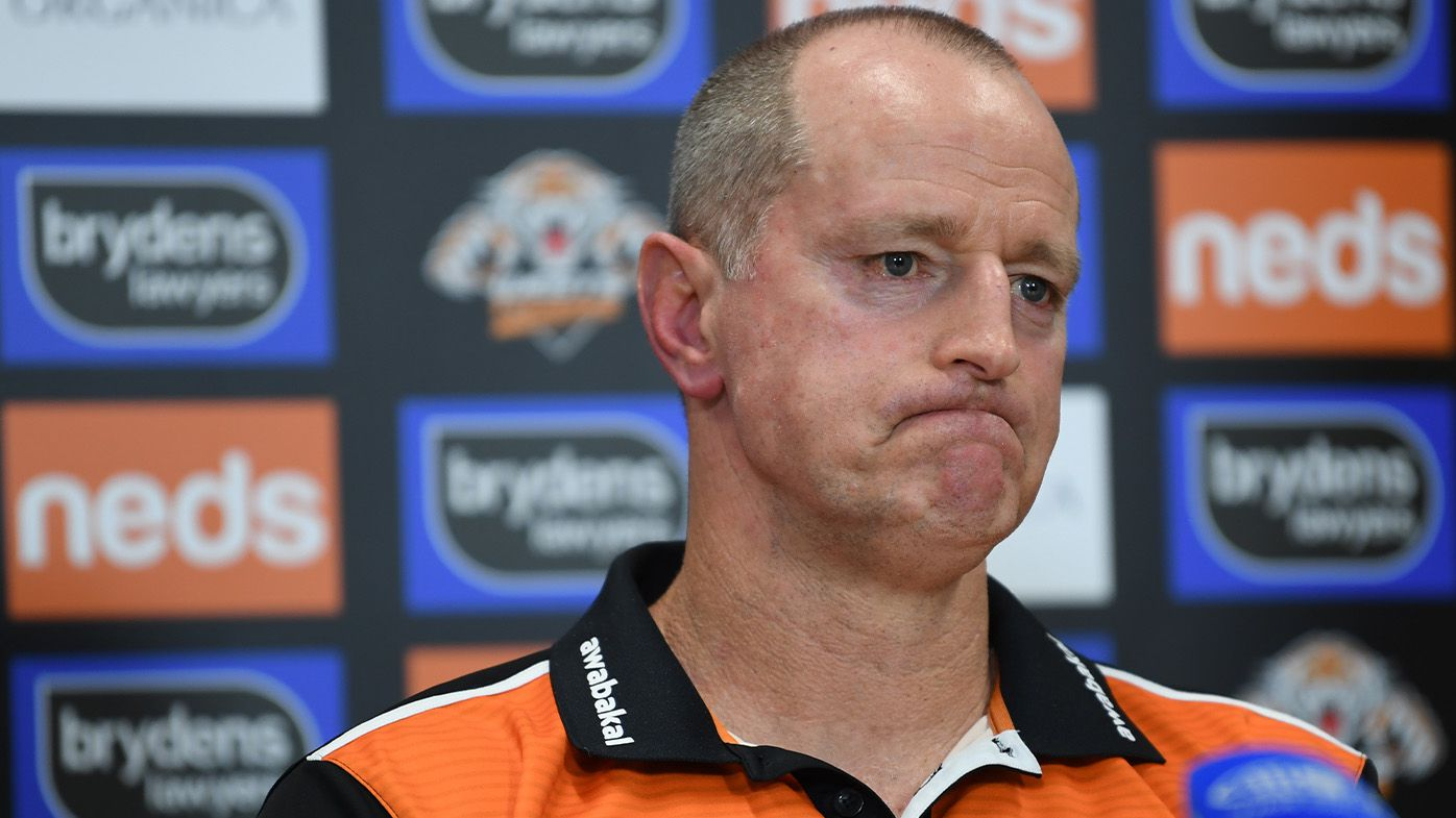 Wests Tigers' reported plans to axe Michael Maguire questioned by Storm legend Billy Slater