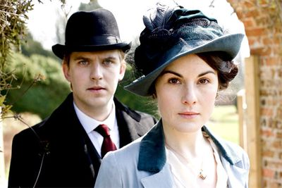 <B>The URST:</B> Lady Mary Crawley (Michelle Dockery) was meant to marry the heir to Downton Abbey... but then he died when the Titanic sank. Sparks didn't exactly fly when she met the new heir, middle-class (gross!) lawyer (double gross!) lawyer Matthew (Dan Stevens), but feelings gradually blossomed between the pair.