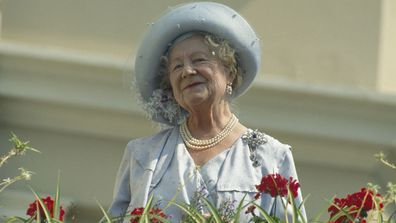 The Queen Mother (1900 - 2002) celebrates her 90th birthday in London, UK, 4th August 1990