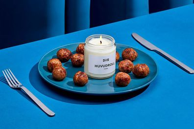 IKEA's Swedish meatball-scented candle being gifted to US shoppers.