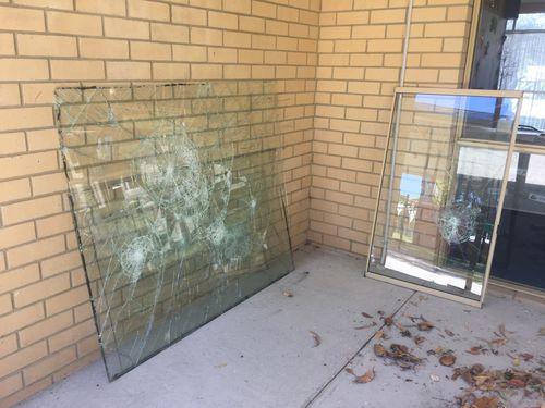 Vandals trash primary school