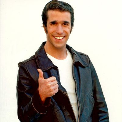 Henry Winkler as The Fonz — Happy Days