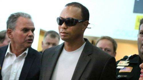 Golfer Tiger Woods pleaded guilty to reckless driving. (Associated Press)