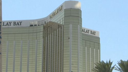 The Mandalay Bay Resort and Casino where Mr Hodge was told he was roomed next door to the gunman.