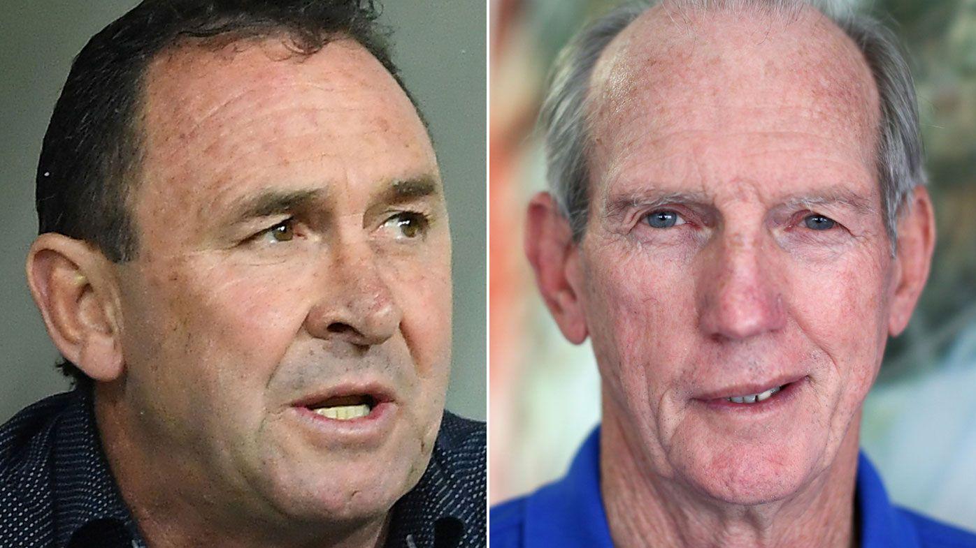 Ricky Stuart praises Wayne Bennett ahead of NRL prelim, despite rival's revelation