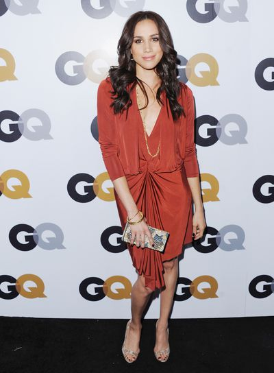 Meghan Markle at the GQ Men Of The Year party at Chateau Marmont on November 13, 2012