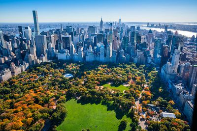 2. Central Park in New York City, New York