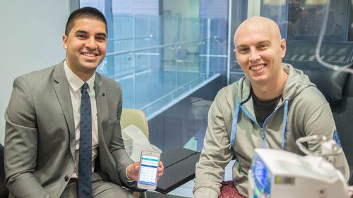 Sydney doctor creates app to improve the lives of cancer patients
