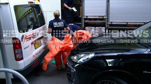 Specialist Fire and Rescue NSW teams with chemical experience attended the scene.