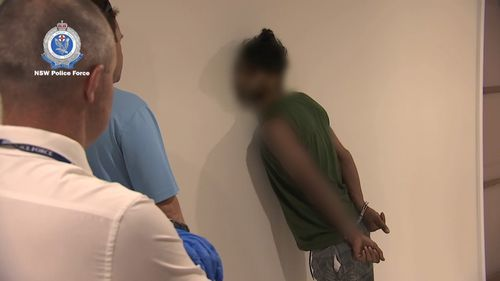 Police arrested a man and a woman at a unit in North Parramatta yesterday.