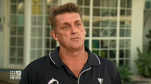 Wayne Phillips from Sea World told 9News the crew was humbled to help free the young whale.