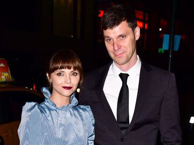 Christina Ricci, James Heerdegen, wedding reception for Char Defrancesco and Marc Jacobs, New York, 2019