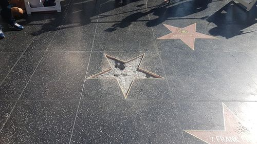 It is not the first time the star has been vandlised which as been smeared with excrement and daubed with a swastika in the past. (9NEWS)