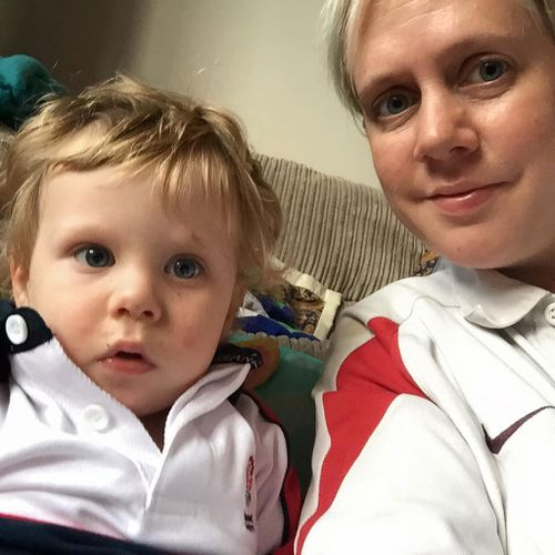 Kirsty Nelson and son Zac (Supplied)