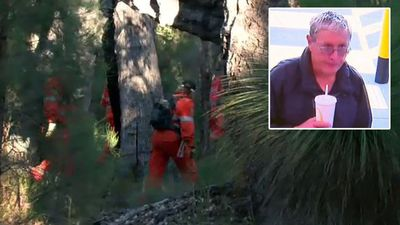 Search for missing Perth grandfather scaled back after seven days
