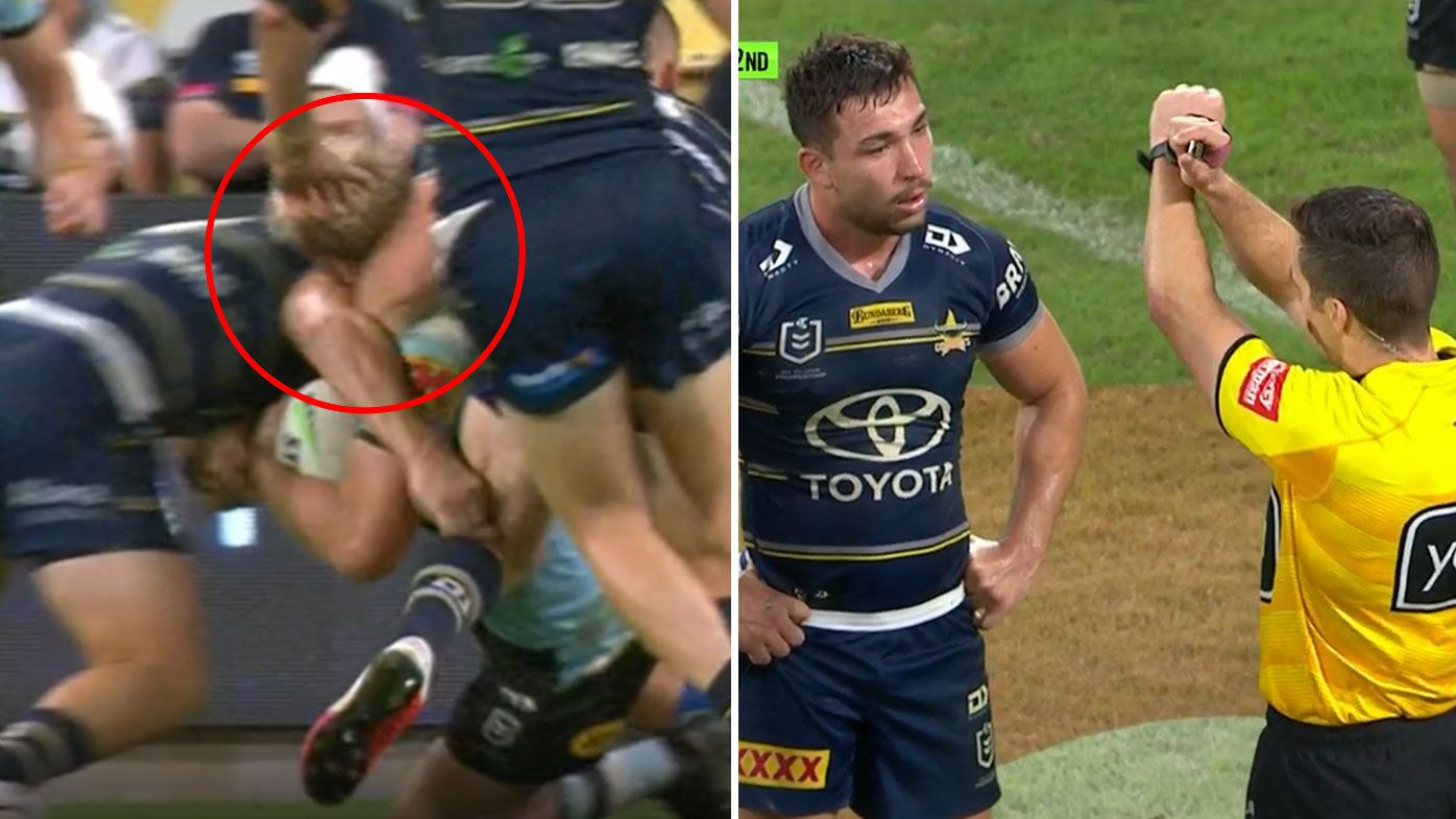 NRL says decision to send Reece Robson to the sin bin was wrong