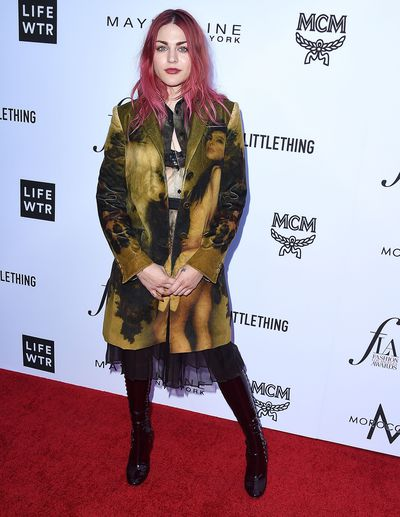 Frances Bean Cobain in Moschino