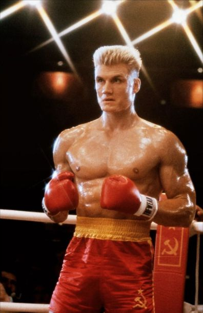 Dolph Lundgren, Rocky IV, movie
