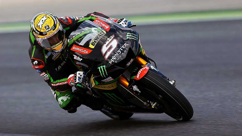 Frenchman Johann Zarco has secured his first pole position. (AAP)