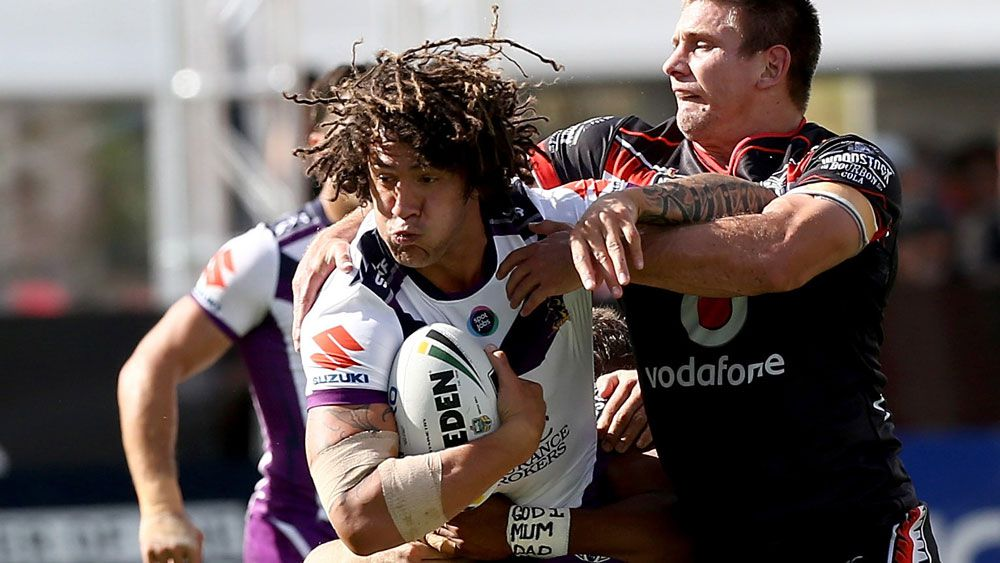 Storm beat Warriors for third NRL win