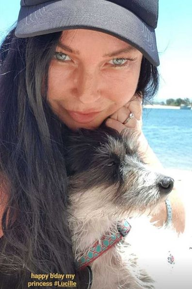 Schapelle Corby sparked engagement rumours with a beach selfie flashing a diamond ring.