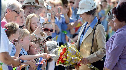 Princess Anne no koala fan?