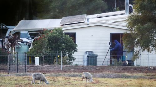 The shootings took place at a rural property in Osmington, on the outskirts of Margaret River.