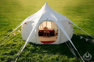 <strong>Designer tent for one</strong>