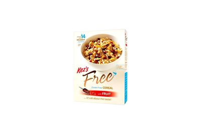 Kez's Free Gluten Free Cereal with Fruit