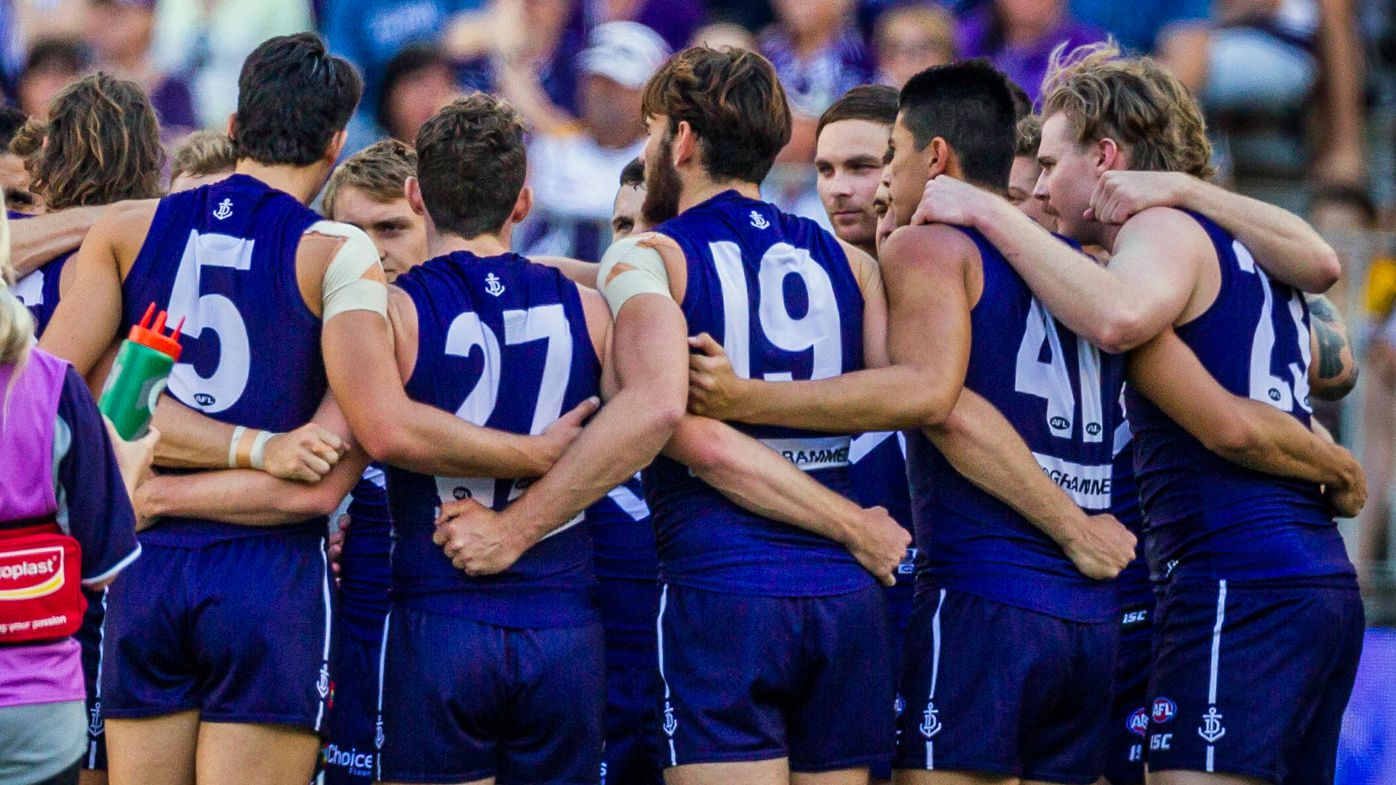 Fremantle Dockers AFL coach Ross Lyon named in report as official in sexual harassment payout case