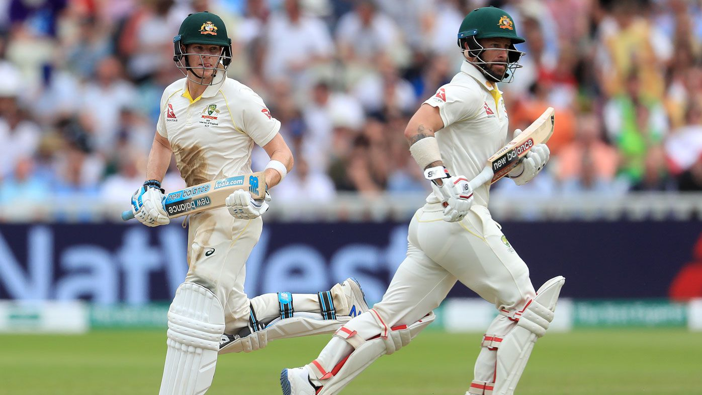 Smith and Wade combined for a 126-run stand