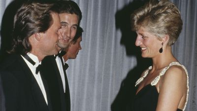 Princess Diana meets Kurt Russell