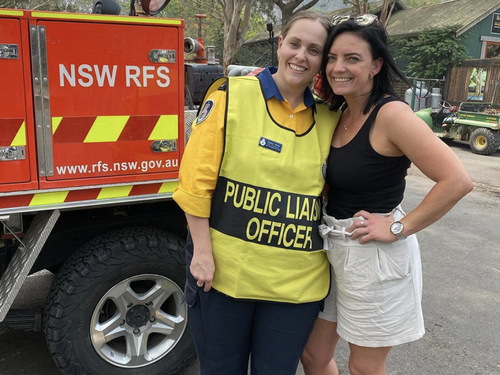 If you can't donate money, organisations such as the RFS need volunteers.