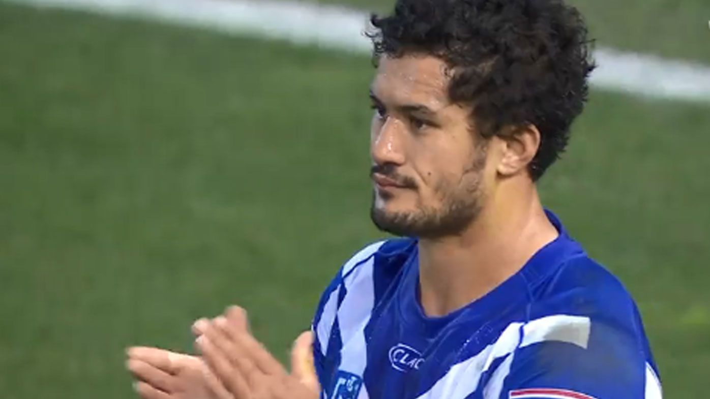 Corey Harawira-Naera signed with the Raiders after being released by the Bulldogs