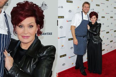 Reality TV star Sharon Osbourne and celebrity chef Curtis Stone