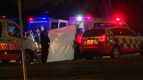 Police believe the Villawood unit shooting was targeted. (9NEWS)