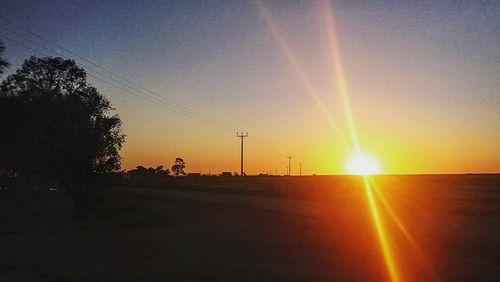 Maree sunsets over remote landscapes.