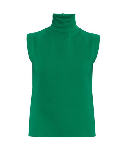 """<a href=""""http://www.matchesfashion.com/au/products/Marni-Sleeveless-roll-neck-top-1028125"""" target=""""_blank"""">Top, $424, Marni at matchesfashion.com</a>"""