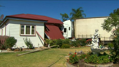The damage to the home is estimated at $43,000. (9NEWS)