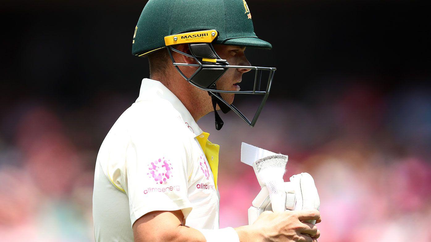 Marcus Harris falls within sight of maiden Test century