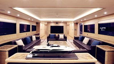 Inside Jackie Chan's extravagant super yacht