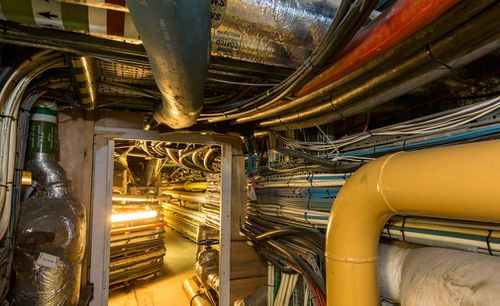Steam systems and electrical cabling are often laid on top of one another, presenting a risk to safety and of failure, and the growing backlog of work has left the Palace with a potentially catastrophic mix of aging services. Picture: UK Parliament