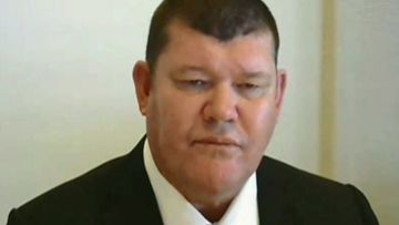 James Packer appeared before the inquiry for a second time today.