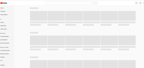 Millions of users were met with a blank screen or 'server error' messages when they try to access YouTube.