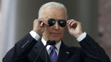 Joe Biden has raised a record sum in his first day on the campaign.